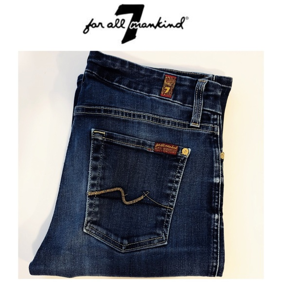 7 For All Mankind Denim - 7FAM Jimmie Bootcut Jeans Size 28